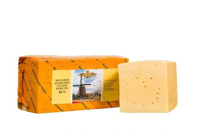 """weight cheese Gauda """"belovejsky"""" 1kg-6.90jd"""