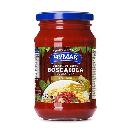 Chumak Spaghetti - Boscaiola Mushroom Sauce 340g