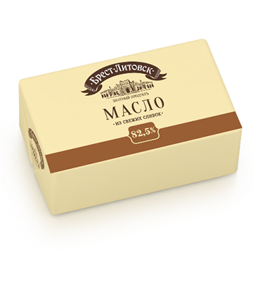 Brest Litovsk Butter 82.5% 180g