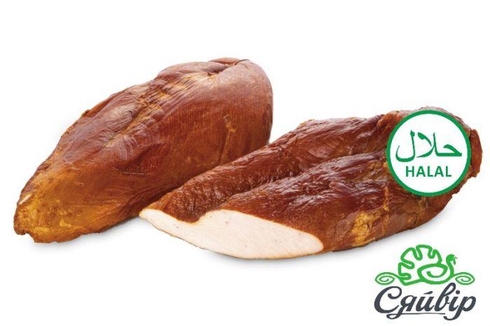 Syaivir delicacies breast boiled-smoked turkey  smoked 600g Halal