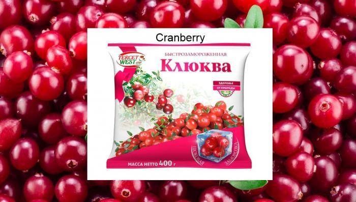 Frozen Cranberries 400 g