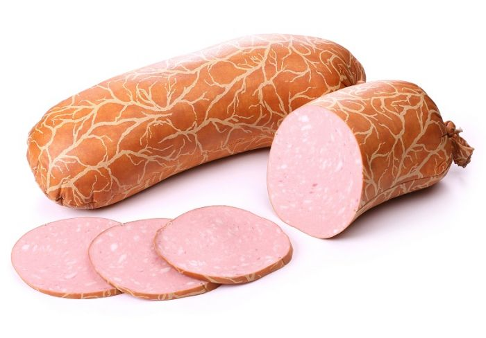 """Cooked sausage """"Delicious"""" 500g (pork + beef)"""