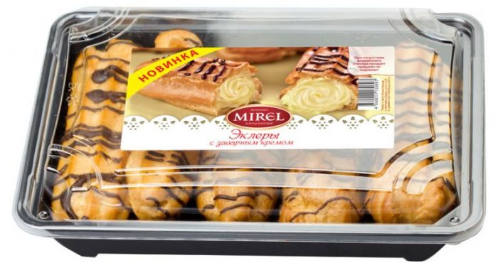Mirel Eclairs with sour cream 200 gr