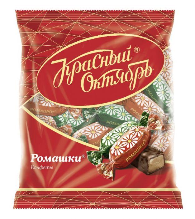 Krasny Oktyabr chocolate candies Chamomile 250g