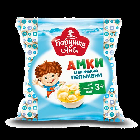 """""""Grandma Anya"""" dumplings 400 gr (beef + pork) for children from 3+"""
