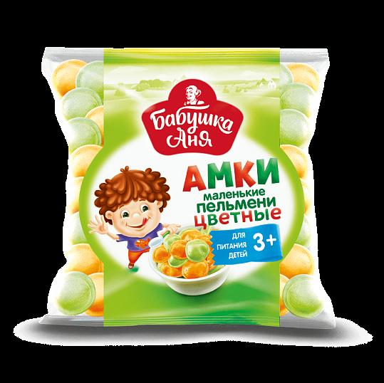 """Grandma Anya"" dumplings Colored 400 gr (beef + poultry + pork) for children from 3+"