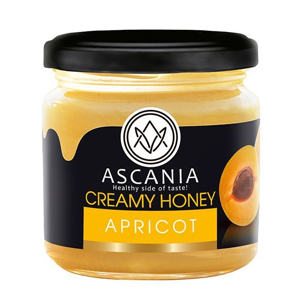 CREAMY HONEY WITH APRICOT  250 G