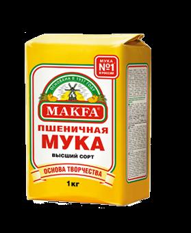 Makfa Wheat flour premium quality 1 kg