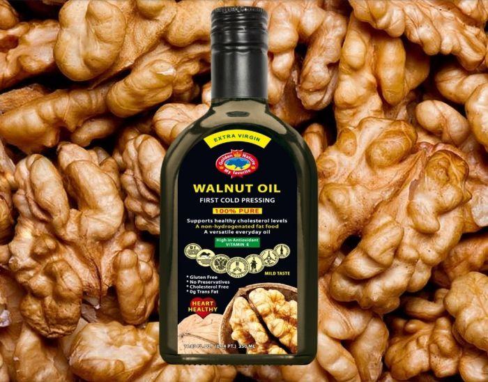 Walnut oil (350ml glass bottle)