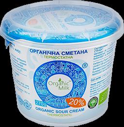 Organic Sour cream 20% 270g