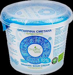 Organic Sour cream 10% 270g