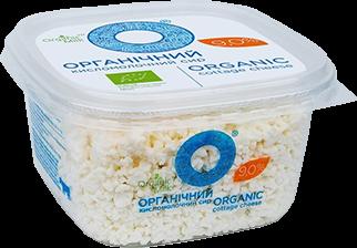 Organic Cottage cheese 9% 300g