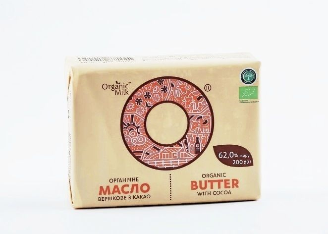 Organic Butter chocolate 200g