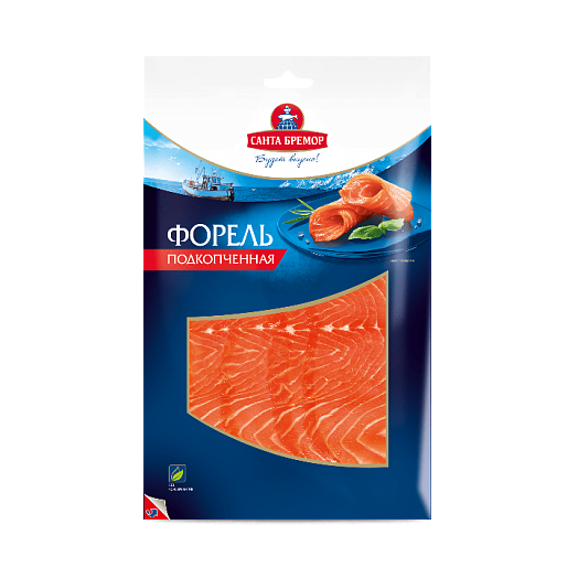 Santa Bremor trout chilled smoked 100 gr