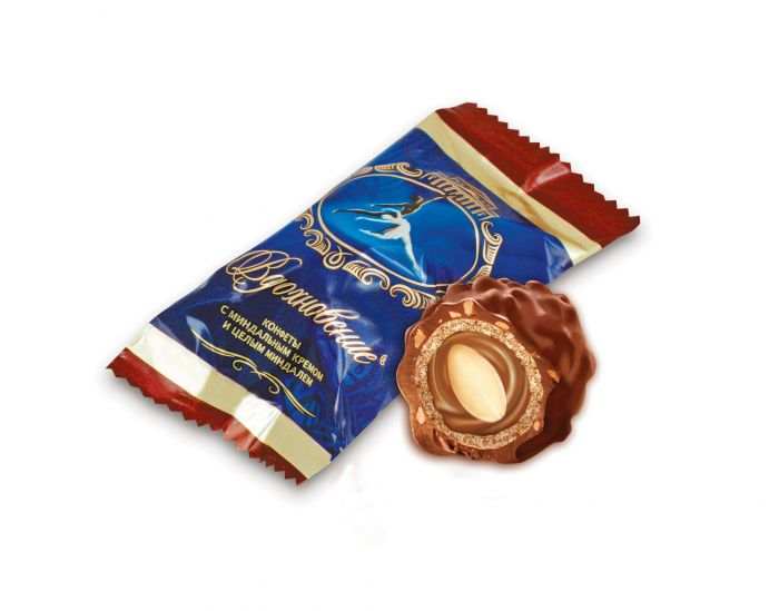weight chocolate candies Artpassion with whole almond 1kg-9.75jd
