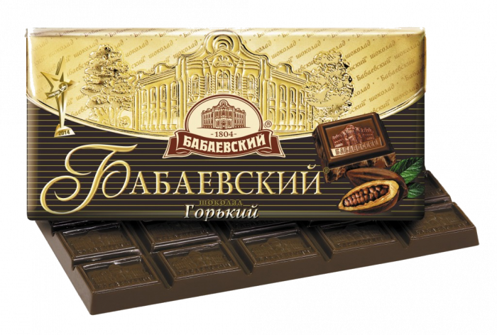 Babaevsky chocolate bar Bitter 100 g