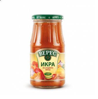 Veres sauce from sweet pepper 520g