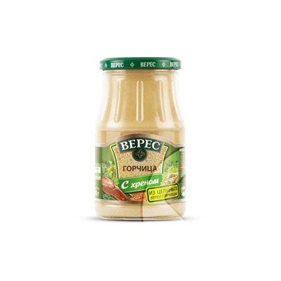 Veres mustard with horseradish 190g