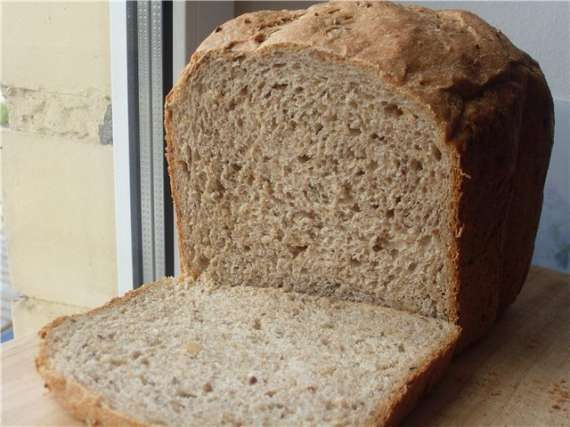 Diet bread with bran 365g