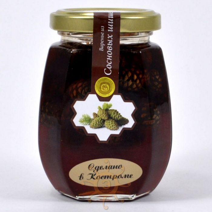 kostroma homemade jam Pine cone  220g
