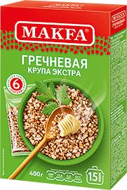Makfa Buckwheat in bags 400g