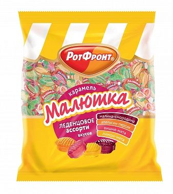 RotFront  caramel candy Malutka assorted 250g
