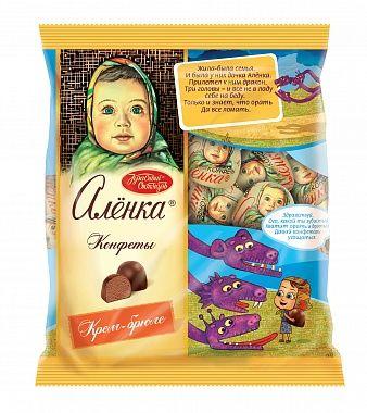 Alenka Chocolate candies  creme brulee 250g