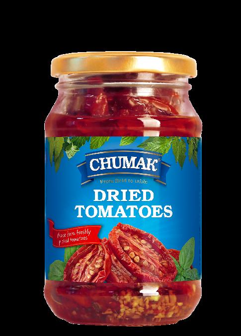 Chumak  DRIED TOMATOES in oil 280g