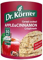 Dr.Korner Crispbread apple&cinnamon 100g