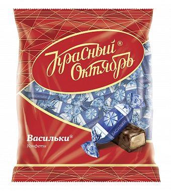 "Krasny Oktaybr Chocolate candies ""cornflowers"" 250g"