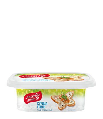 Processed  cheese with chicken flavor 170g