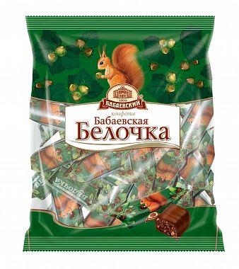 Babaevskie Chocolate candies  Squirrel 200g