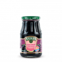 Veres Black currant natural with sugar 350g (Ukraine)