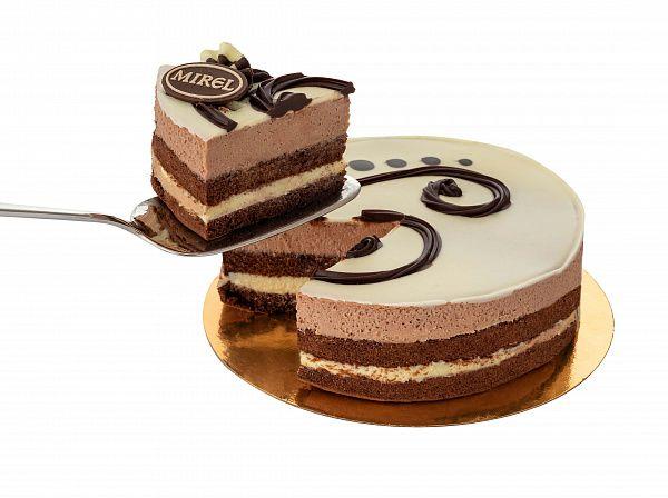 "MIREL Cake ""Three Chocolates"" 900 gr"