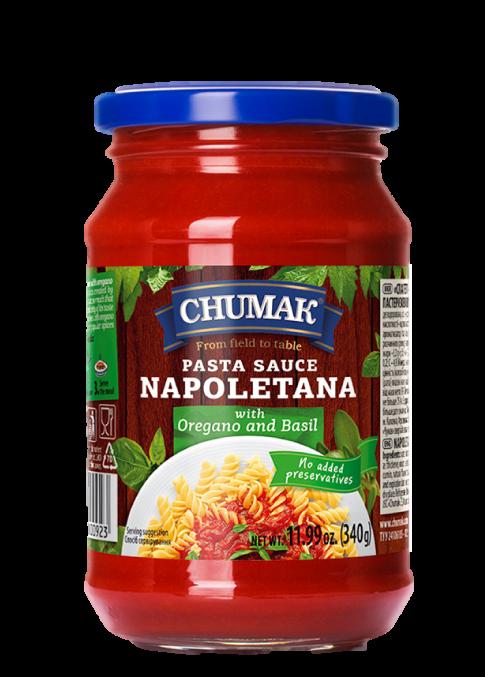 Chumak Spaghetti - Napolitana  oregano Sauce 340g