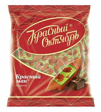 Krasny oktyabr Chocolate candies  Red poppy 250g