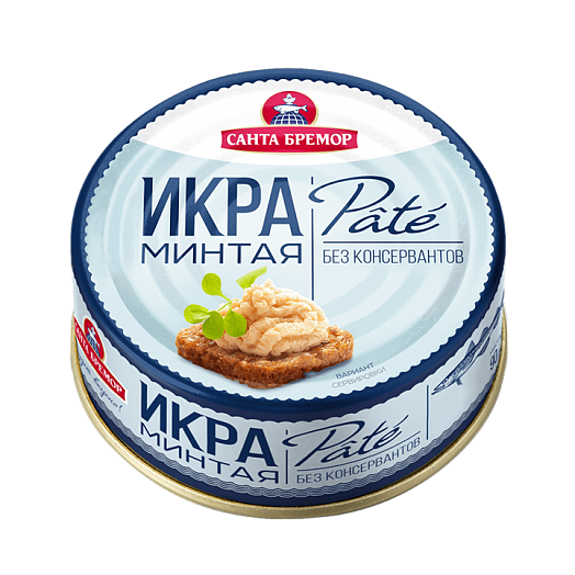 "Pasteurized Atlantic pollock caviar  ""Pate"" Weight - 90 G"