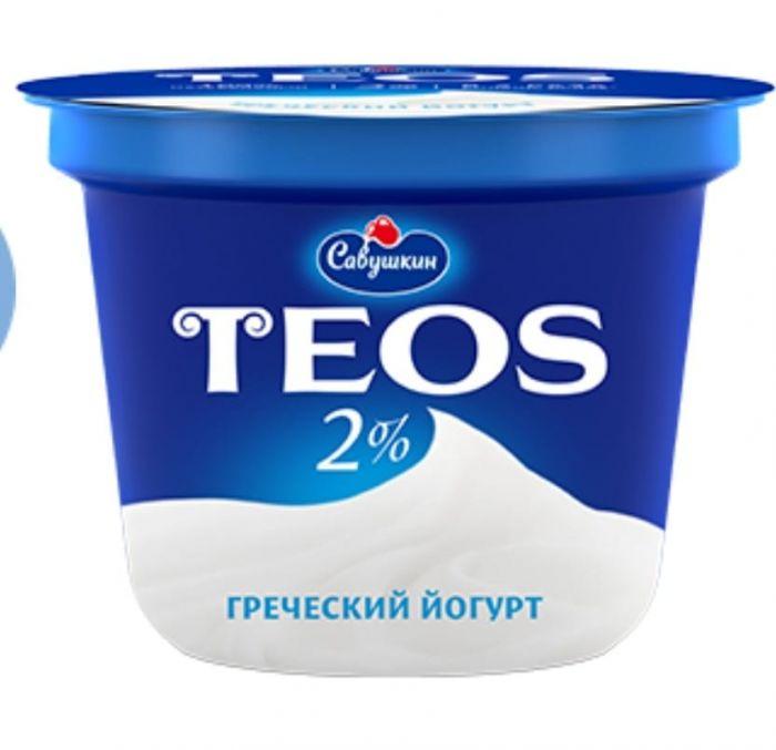 Yogurt Greek TEOS Filling: natural 5%,250 Gr