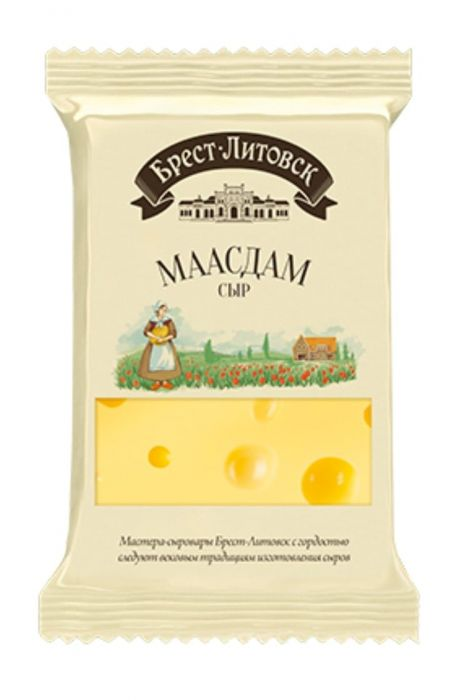 Brest Litovsk (Block) Cheese  Maasdam 200g