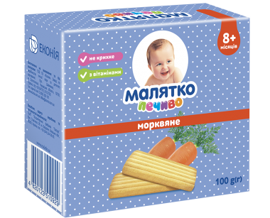 Malyatko biscuits Carrot 100g