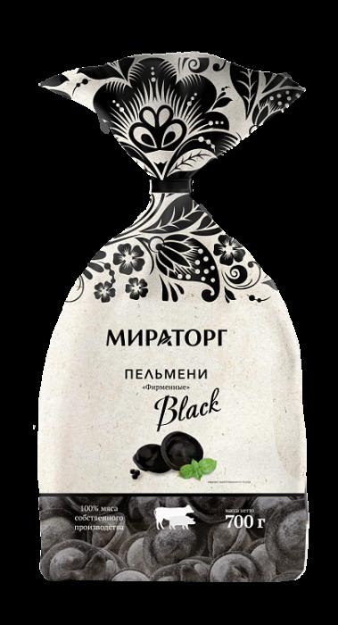 Miratorg Dumplings black (pork&beef) 800g
