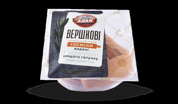 Alan boiled Sausages Slivochniye  500g